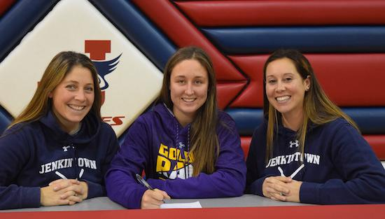 "<span style=""overflow: hidden; float: left; width: 360px;"">Jenkintown's Rory Strohm will continue her field hockey career at West Chester University.</span> <span id=""fa_link"" style=""float: left; text-align: center; width: 151px; height: 22px;""><a href=""/college-signings/content/jenkintowns-strohm-commits-play-field-hockey-west-chester""><img src=""/profiles/s1s/themes/s1s_classic/images/main_fullarticle.gif"" style=""position:relative;""/></a></span>"