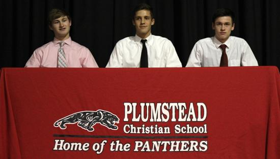 """<span style=""""overflow: hidden; float: left; width: 360px;"""">Plumstead seniors Kyle Seelig, Justin Brautigam & Andrew Johnson were recognized for committing to play collegiate sports.</span> <span id=""""fa_link"""" style=""""float: left; text-align: center; width: 151px; height: 22px;""""><a href=""""/college-signings/content/plumstead-seniors-name-college-choices""""><img src=""""/profiles/s1s/themes/s1s_classic/images/main_fullarticle.gif"""" style=""""position:relative;""""/></a></span>"""